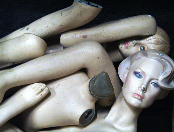 Mannequins in a pile | 11 Ridiculous British Laws