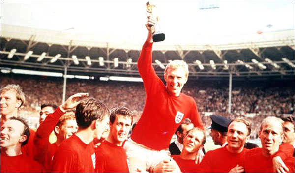 England 1966 World Cup winning team