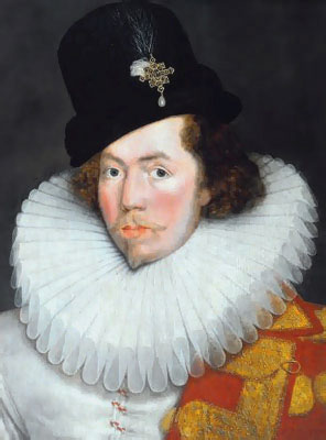 Sir Henry Unton in a Ruff | Historic Fashionable Neckwear