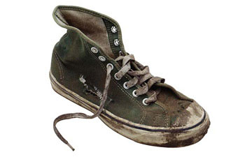Smelly dirty converse shoe | 6 Awkward Awards You Wouldn't Want to Win